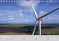 Windkraftanlagen aus der Luft fotografiert (Tischkalender 2019 DIN A5 quer) - Produktdetailbild 10