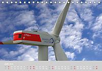 Windkraftanlagen aus der Luft fotografiert (Tischkalender 2019 DIN A5 quer) - Produktdetailbild 6
