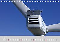 Windkraftanlagen aus der Luft fotografiert (Tischkalender 2019 DIN A5 quer) - Produktdetailbild 8