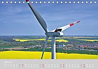 Windkraftanlagen aus der Luft fotografiert (Tischkalender 2019 DIN A5 quer) - Produktdetailbild 7