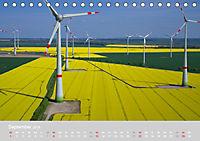 Windkraftanlagen aus der Luft fotografiert (Tischkalender 2019 DIN A5 quer) - Produktdetailbild 9