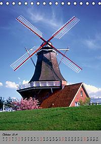 Windmühlen in Norddeutschland (Tischkalender 2019 DIN A5 hoch) - Produktdetailbild 10
