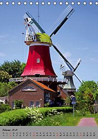 Windmühlen in Norddeutschland (Tischkalender 2019 DIN A5 hoch) - Produktdetailbild 2