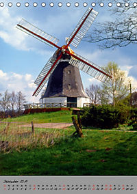 Windmühlen in Norddeutschland (Tischkalender 2019 DIN A5 hoch) - Produktdetailbild 12