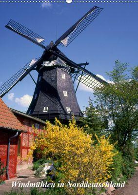 Windmühlen in Norddeutschland (Wandkalender 2019 DIN A2 hoch), Lothar Reupert