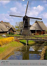 Windmühlen in Norddeutschland (Wandkalender 2019 DIN A2 hoch) - Produktdetailbild 1