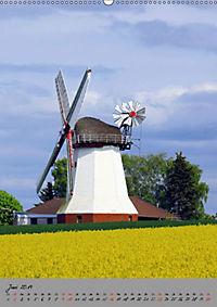 Windmühlen in Norddeutschland (Wandkalender 2019 DIN A2 hoch) - Produktdetailbild 6