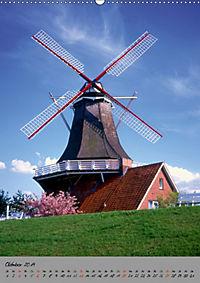 Windmühlen in Norddeutschland (Wandkalender 2019 DIN A2 hoch) - Produktdetailbild 10