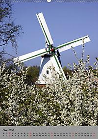 Windmühlen in Norddeutschland (Wandkalender 2019 DIN A2 hoch) - Produktdetailbild 3