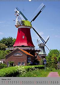 Windmühlen in Norddeutschland (Wandkalender 2019 DIN A2 hoch) - Produktdetailbild 2