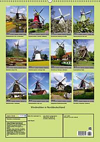 Windmühlen in Norddeutschland (Wandkalender 2019 DIN A2 hoch) - Produktdetailbild 13