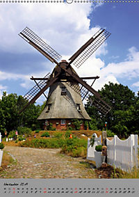 Windmühlen in Norddeutschland (Wandkalender 2019 DIN A2 hoch) - Produktdetailbild 11