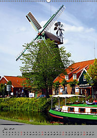 Windmühlen in Norddeutschland (Wandkalender 2019 DIN A2 hoch) - Produktdetailbild 7