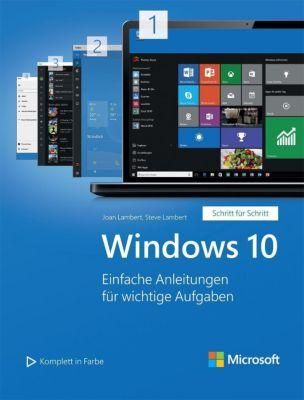 Windows 10 - Schritt für Schritt, Joan Lambert, Steve Lambert