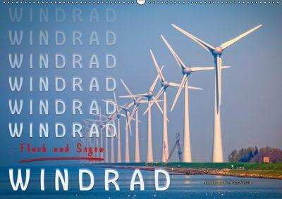 Windrad - Fluch und Segen (Wandkalender 2019 DIN A2 quer), Peter Roder