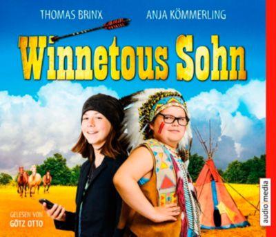 Winnetous Sohn, 3 Audio-CDs, Thomas Brinx, Anja Kömmerling