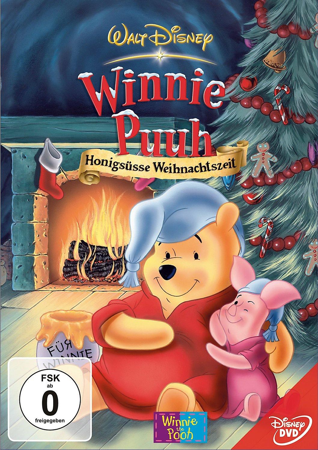 Winnie Puuh - Honigsüsse Weihnachtszeit DVD | Weltbild.de