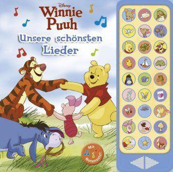 Winnie Puuh, Unsere schönsten Lieder, m. Soundeffekten, Walt Disney