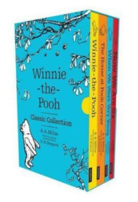 Winnie the Pooh, Classic Collection, 4 vols., Alan Alexander Milne, Ernest H. Shepard