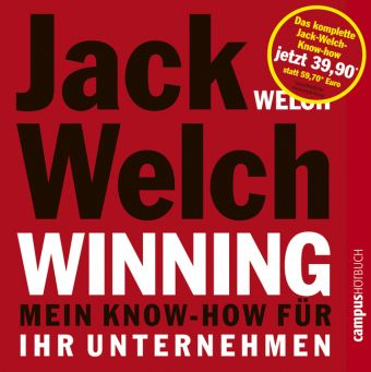 Winning - 1 bis 3, 9 Audio-CDs, Jack Welch, Suzy Welch