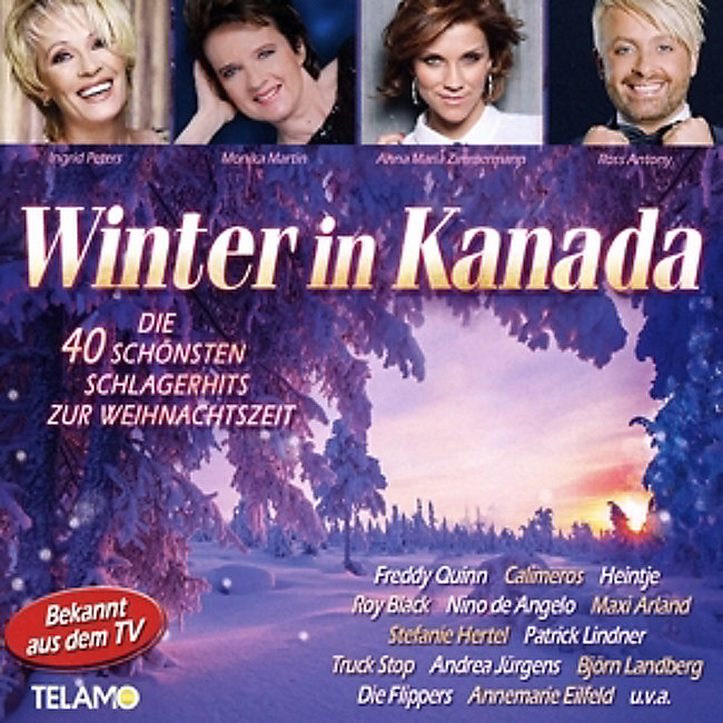 Freddy Präsentiert Die Schönsten Weihnachtslieder Großer Stars.Winter In Kanada Die 40 Schönsten Schlagerhits Zur Weihnachtszeit