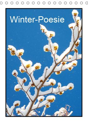 Winter-Poesie (Tischkalender 2019 DIN A5 hoch), Gisela Kruse