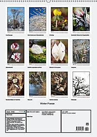 Winter-Poesie (Wandkalender 2019 DIN A2 hoch) - Produktdetailbild 13