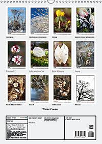 Winter-Poesie (Wandkalender 2019 DIN A3 hoch) - Produktdetailbild 13