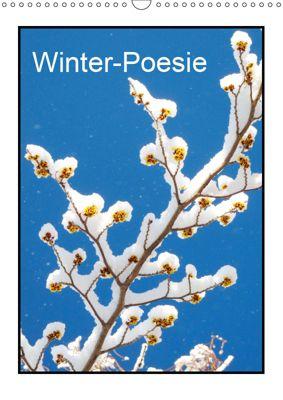 Winter-Poesie (Wandkalender 2019 DIN A3 hoch), Gisela Kruse