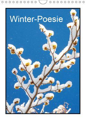 Winter-Poesie (Wandkalender 2019 DIN A4 hoch), Gisela Kruse