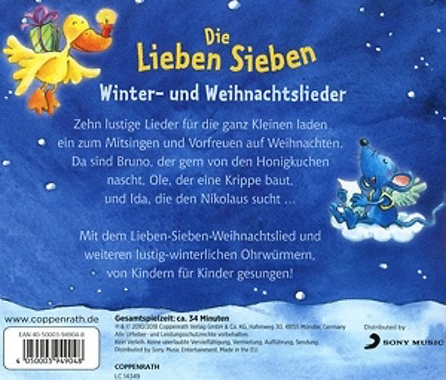 Weihnachtslieder Für Kleinkinder.Winter Und Weihnachtslieder Cd Bei Weltbild De Bestellen