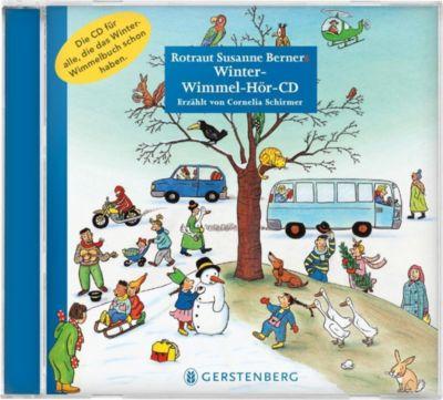 Winter-Wimmel-Hör-CD, 1 Audio-CD, Rotraut Susanne Berner, Wolfgang Von Henko, Ebi Naumann