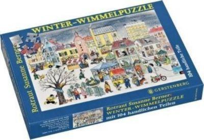 Winter-Wimmel-Puzzle (Kinderpuzzle), Rotraut Susanne Berner