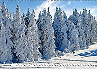 Winter. Zauberhafte Schneelandschaften (Wandkalender 2019 DIN A2 quer) - Produktdetailbild 1