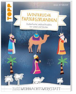 Winterliche Papiergirlanden - Anja Ritterhoff |