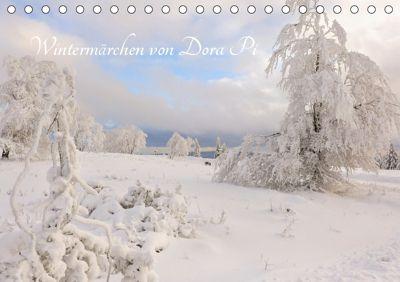 Wintermärchen von Dora Pi (Tischkalender 2019 DIN A5 quer), Dora Pi