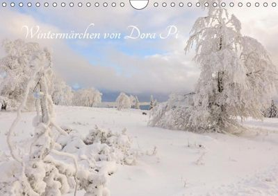 Wintermärchen von Dora Pi (Wandkalender 2019 DIN A4 quer), Dora Pi