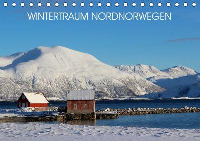 Wintertraum Nordnorwegen (Tischkalender 2019 DIN A5 quer), Bernd Becker