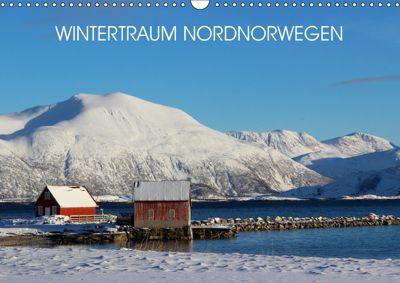 Wintertraum Nordnorwegen (Wandkalender 2019 DIN A3 quer), Bernd Becker
