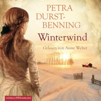 Winterwind, 4 Audio-CDs, Petra Durst-Benning