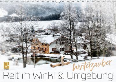 WINTERZAUBER Reit im Winkl und Umgebung (Wandkalender 2019 DIN A3 quer), Melanie Viola