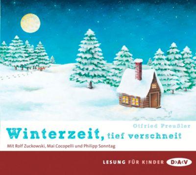 Winterzeit, tief verschneit, 2 Audio-CDs, Otfried Preußler