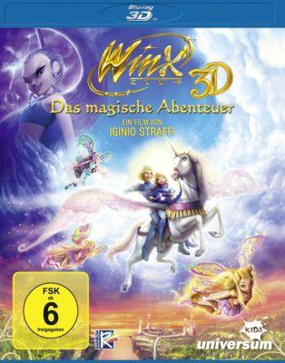 Winx Club: Das magische Abenteuer - 3D-Version, Iginio Straffi, Francesco Artibani, Sean Molyneaux, Mauro Uzzeo