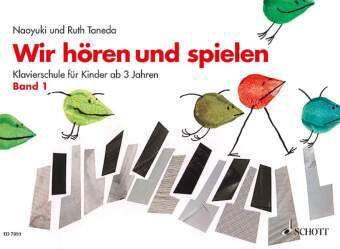 Wir hören und spielen, Klavier, Naoyuki Taneda, Ruth Taneda