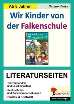 Wir Kinder von der Falkenschule - Literaturseiten, Sabine Hauke