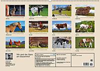 Wir sind die Stars am Bauernhof (Wandkalender 2019 DIN A2 quer) - Produktdetailbild 13
