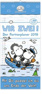 Wir Zwei! Der Partnerplaner 2018, Steff