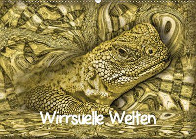 Wirrsuelle Welten (Wandkalender 2019 DIN A2 quer), Garrulus glandarius