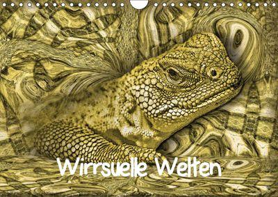 Wirrsuelle Welten (Wandkalender 2019 DIN A4 quer), Garrulus glandarius