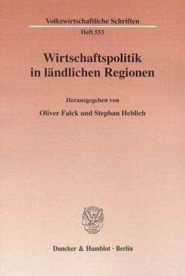 Wirtschaftspolitik in ländlichen Regionen.